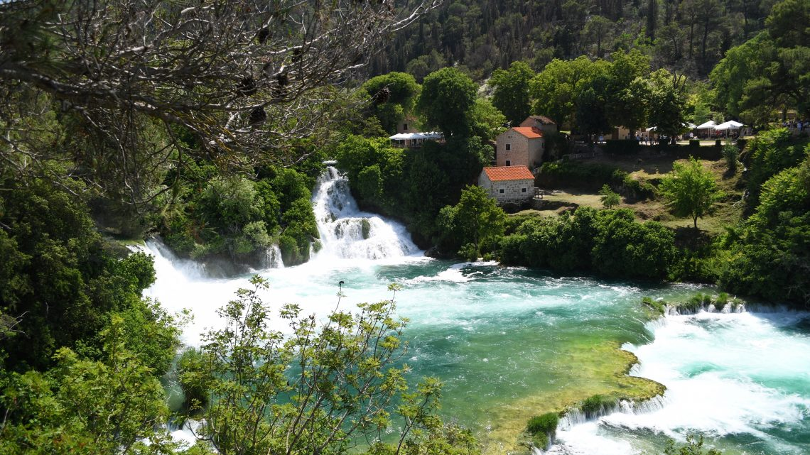 Idylle pur: Der Krka-Nationalpark