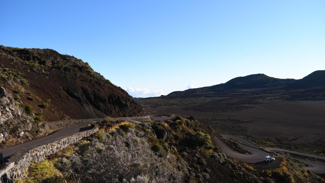 Der Piton de la Fournaise, einer der aktivsten Vulkane der Erde