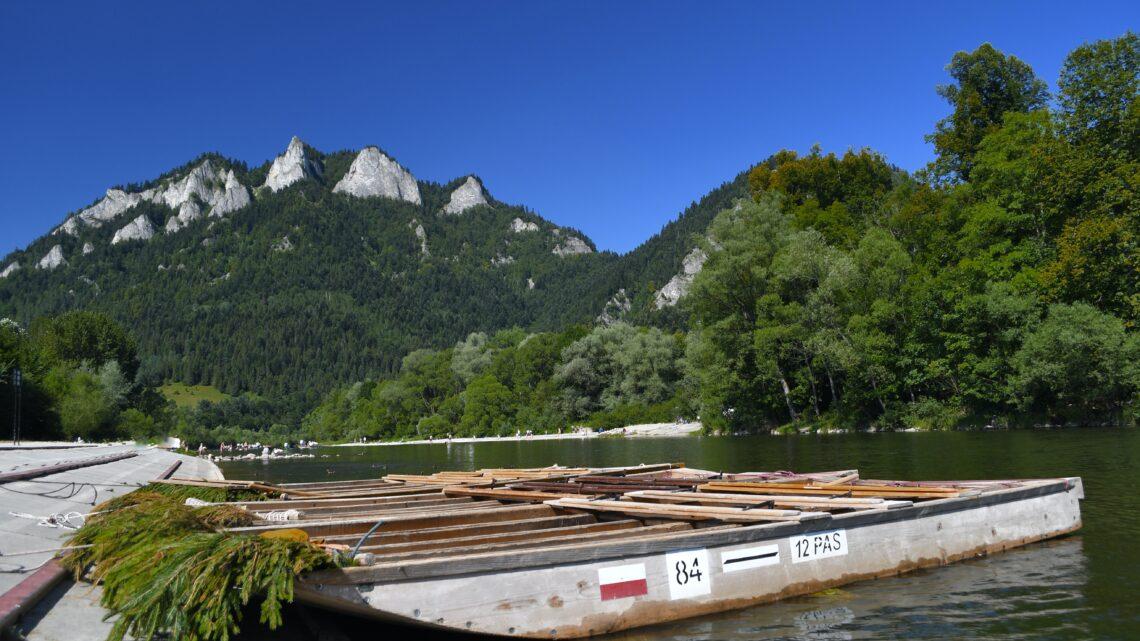 Mit dem Floß über den Dunajec
